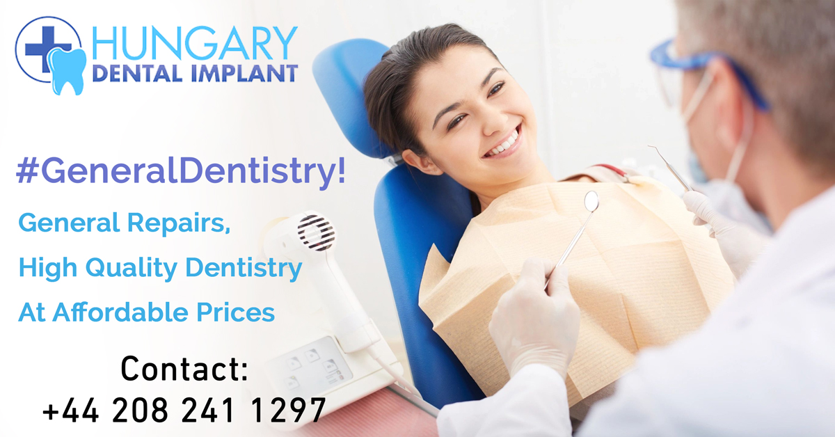 General Dentistry—Know Everything about It In London
