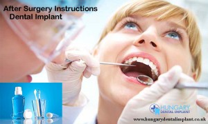After Surgery Dental Implants